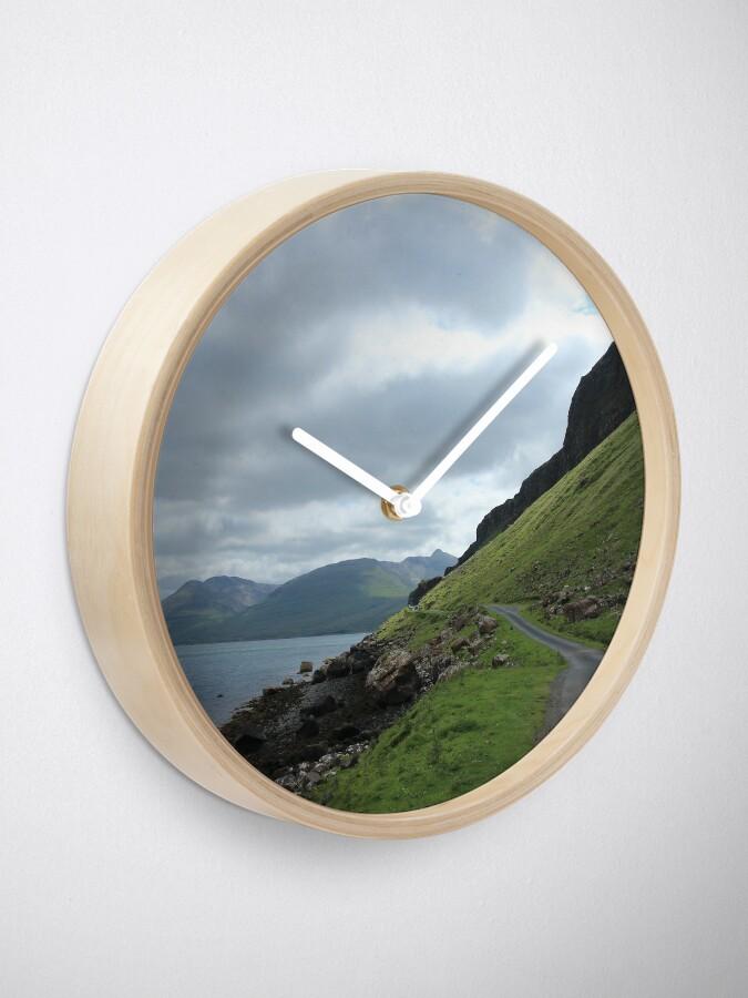 Alternate view of Island road Clock