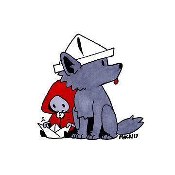 Little Red and Her Wolf by RadioactiveSoda