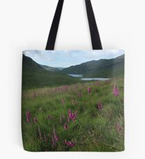 Field of foxgloves II Tote Bag