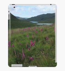 Field of foxgloves II iPad Case/Skin