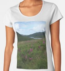 Field of foxgloves II Premium Scoop T-Shirt