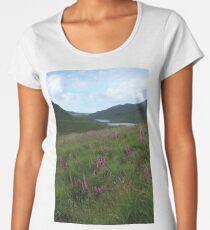 Field of foxgloves II Women's Premium T-Shirt