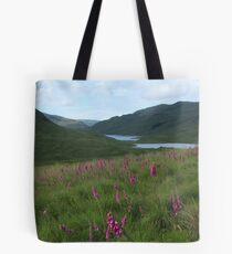 Field of foxgloves I Tote Bag