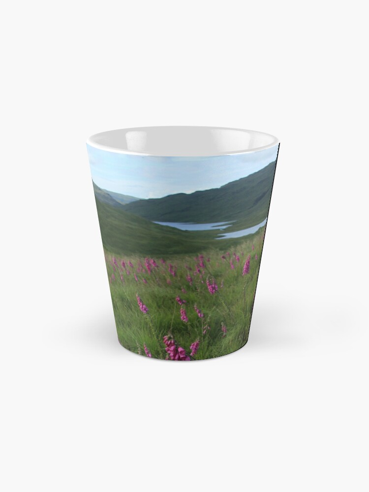 Alternate view of Field of foxgloves I Mug