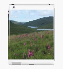 Field of foxgloves I iPad Case/Skin