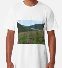 Field of foxgloves I Long T-Shirt