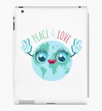 Peace and love. iPad Case/Skin
