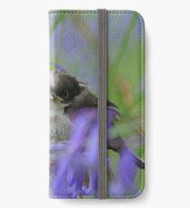 Bird in the blue iPhone Wallet/Case/Skin