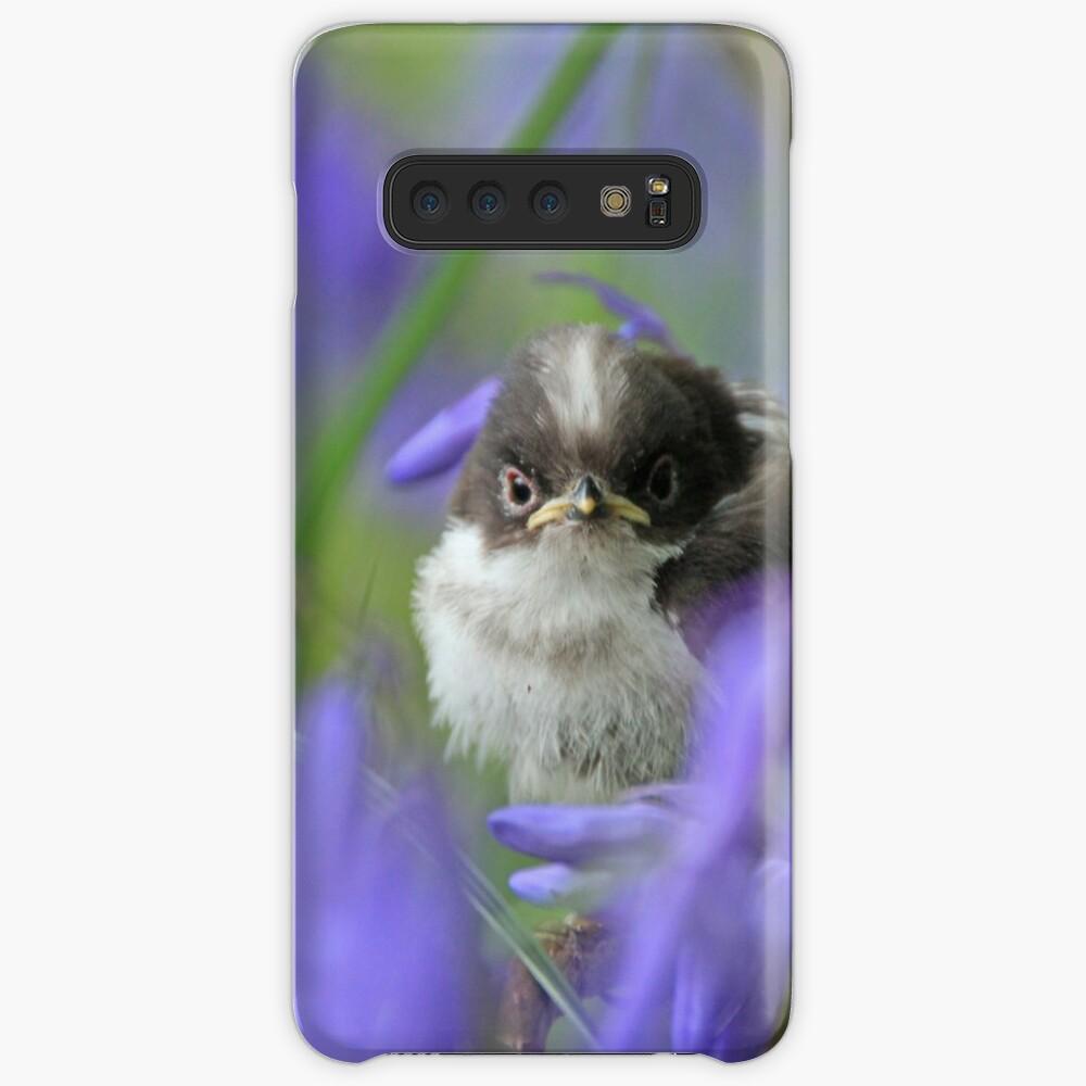 Bird in the blue Case & Skin for Samsung Galaxy