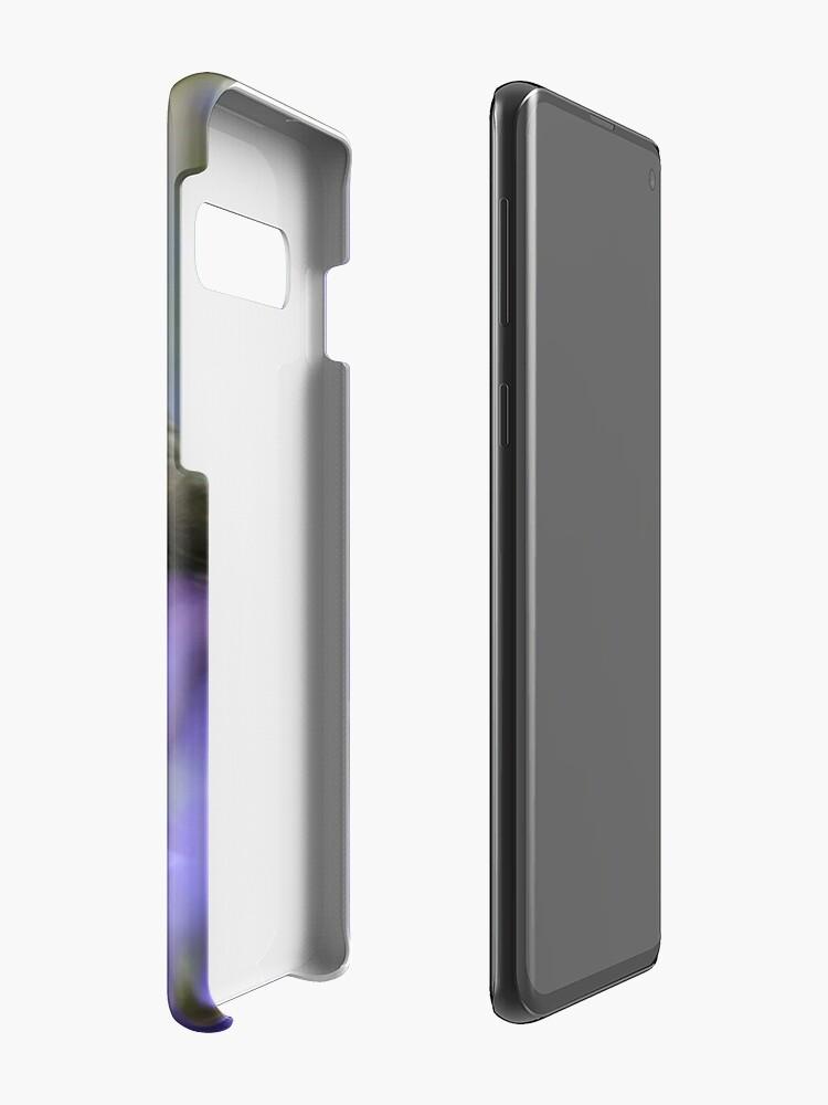 Alternate view of Bird in the blue Case & Skin for Samsung Galaxy