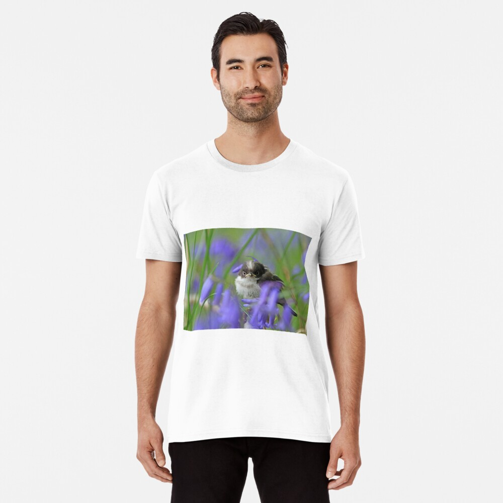 Bird in the blue Premium T-Shirt