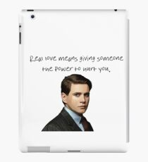 Real Love iPad Case/Skin
