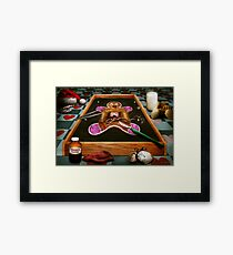 Christmas - Cookie - How do you eat them? Framed Print