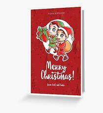 Christmas Janto Greeting Card