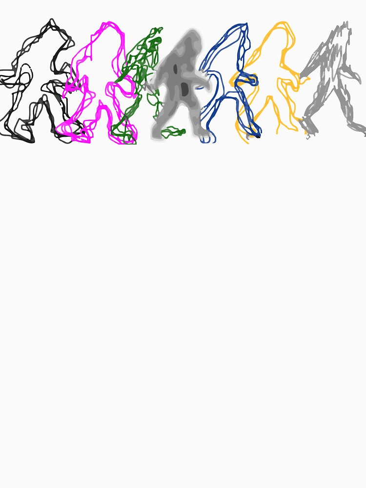 Interdimensional Bigfoot by CanaryCryRadio