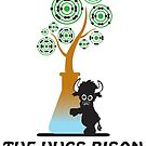 The Hugs Bison by Isaac Novak