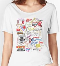 Pop Music Icons Women's Relaxed Fit T-Shirt