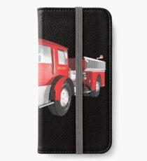 Fire Engine iPhone Wallet/Case/Skin