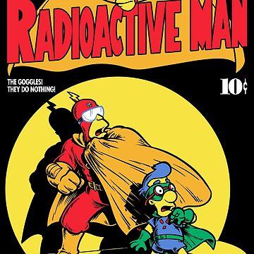 Radioactive Man No. 9 by harebrained
