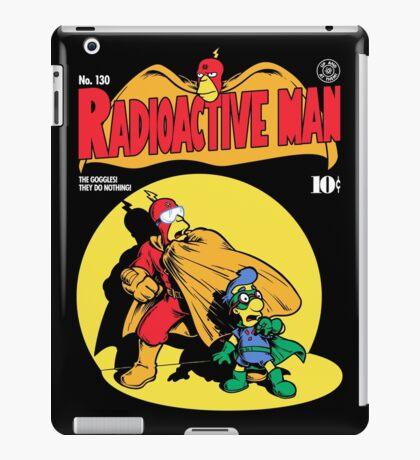 Radioactive Man No. 9 iPad Case/Skin