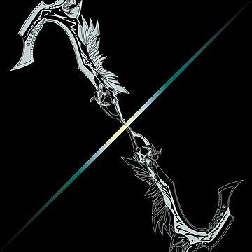 XIII - Zantetsuken by JRPomazon