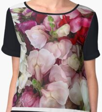 Snap Dragons Women's Chiffon Top