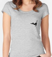 Kitty Paw Women's Fitted Scoop T-Shirt