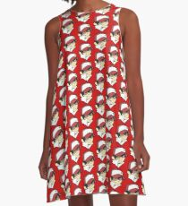 Trainer Red Bust A-Line Dress