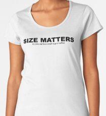 Size Matters Women's Premium T-Shirt