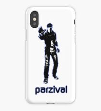 Parzival blue glow iPhone Case/Skin