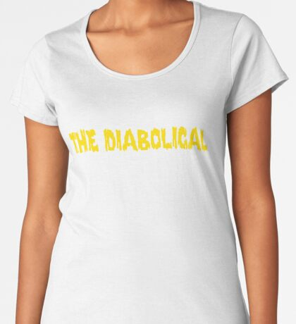 The Diabolical ... Biz Markie  Premium Scoop T-Shirt