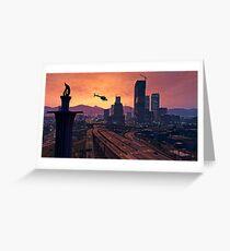 GTA V Scenery Greeting Card