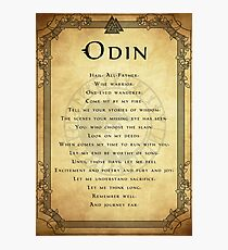 Prayer to Odin Photographic Print