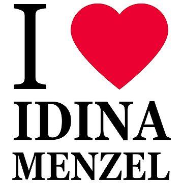 I love Idina Menzel by elisc