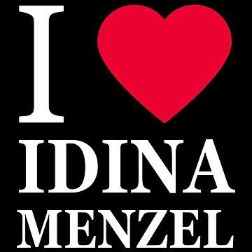 I love Idina Menzel 2 by elisc