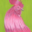 Rooster from Maggie's Farm by maggiedrawsgood