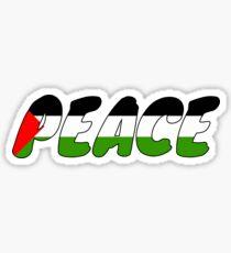 Peace for Palestine. Sticker