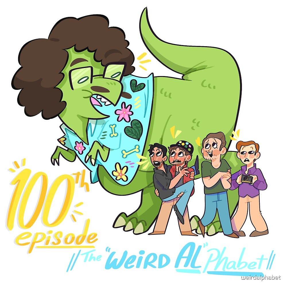 """Weird Al""Phabet 100th Episode! by weirdalphabet"