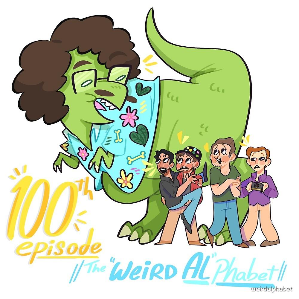 """""""Weird Al""""Phabet 100th Episode! by weirdalphabet"""