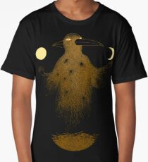 Crow Moon Shaman Long T-Shirt