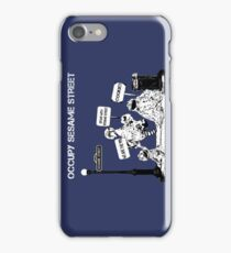 Occupy Sesame Street iPhone Case/Skin