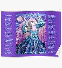 Angel Butterflies In Flight  Cheryle Poster