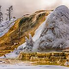 WINTER HOT SPRINGS by Sandy Hill