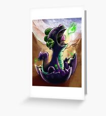 My Little Pony Spike Greeting Card