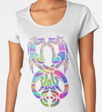Rainbow Kelpies Premium Scoop T-Shirt