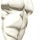 Male Torso by Paul Starkey