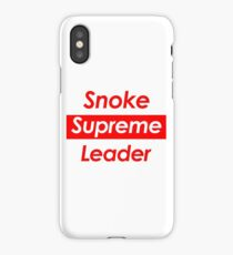Snoke iPhone Case/Skin