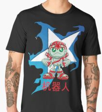 "Robobot ""Off to Mars"" / Three / Robot in Chinese / 机器人 /Star Men's Premium T-Shirt"