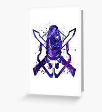 Halo Legendary Splatter Greeting Card
