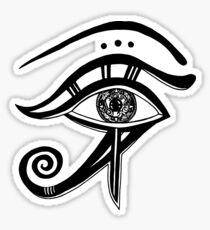 Das Auge, Aufkleber Sticker